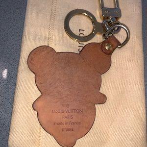 Louis Vuitton Accessories - Authentic Louis Vuitton panda key chain fob charm